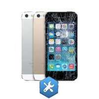 Réparation Vitre tactile noire + LCD - Iphone 5S