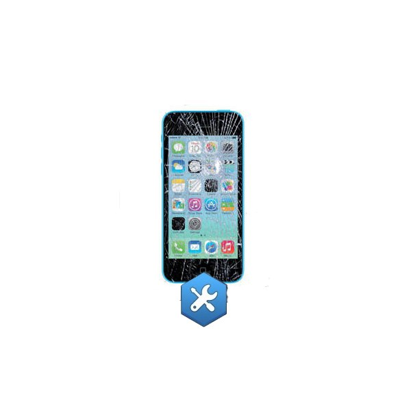 Forfait remplacement ecran iphone 5c noir paris repar for Photo ecran iphone 5c