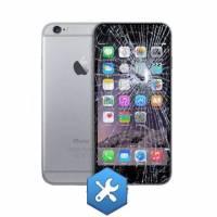 réparation ecran iphone 6  plus noir -