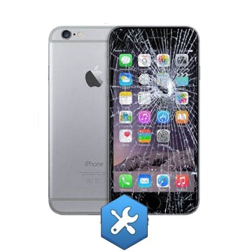 réparation ecran iphone 6 plus noir