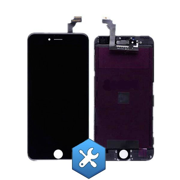 forfait remplacement ecran iphone 6s noir paris repar. Black Bedroom Furniture Sets. Home Design Ideas