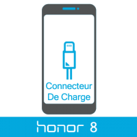 Remplacement connecteur de charge honor 8 -