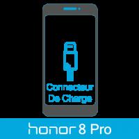 Remplacement connecteur de charge honor 8 pro -