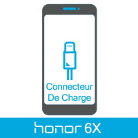 Remplacement connecteur de charge honor 6x -