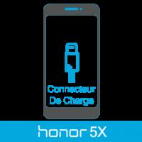 Remplacement connecteur de charge honor 5x -
