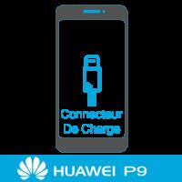 Remplacement connecteur de charge huawei P9 -