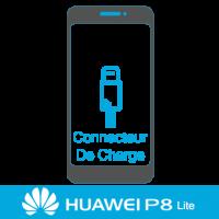 Remplacement connecteur de charge huawei P8 Lite