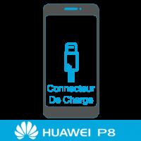 Remplacement connecteur de charge huawei P8 -