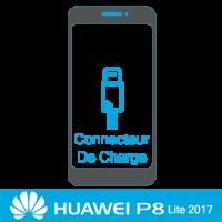Remplacement connecteur de charge huawei P8 Lite  2017 -