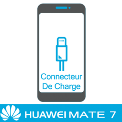 Remplacement connecteur de charge huawei mate 7