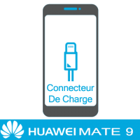 Remplacement connecteur de charge huawei mate 9