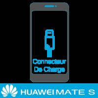 Remplacement connecteur de charge huawei mate S -