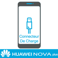 Remplacement connecteur de charge huawei nova plus