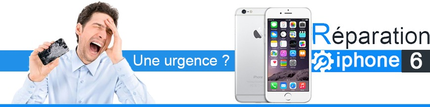 Réparer iphone 6
