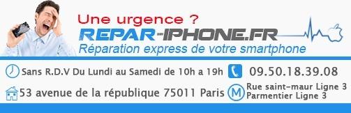 réparation smartphone paris