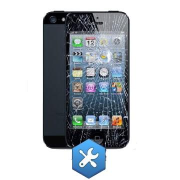 réparation ecran iphone 5 noir