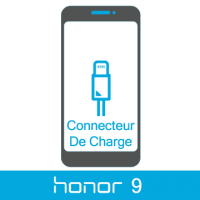 Remplacement connecteur de charge honor 9 -