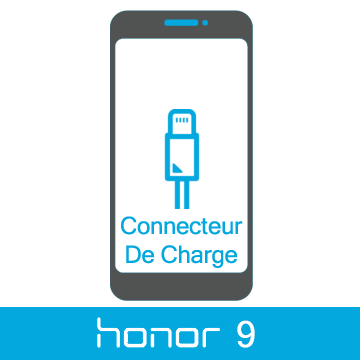 Remplacement connecteur de charge honor 9