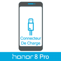 Remplacement connecteur de charge honor 8 pro -
