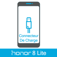 Remplacement connecteur de charge honor 8 Lite -