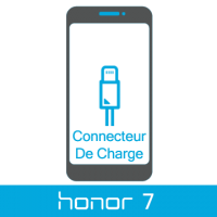 Remplacement connecteur de charge honor 7 -