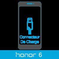 Remplacement connecteur de charge honor 6 -