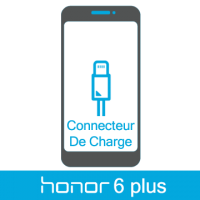 Remplacement connecteur de charge honor 6 plus -