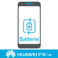 Remplacement batterie huawei p8 lite -
