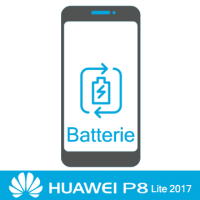 Remplacement batterie huawei p8 lite 2017 -