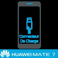 Remplacement connecteur de charge huawei mate 7 -